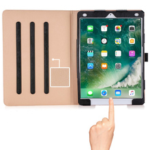 New popular Genuine leather tablet leather Case for iPad Pro 9.7 inch with card slots