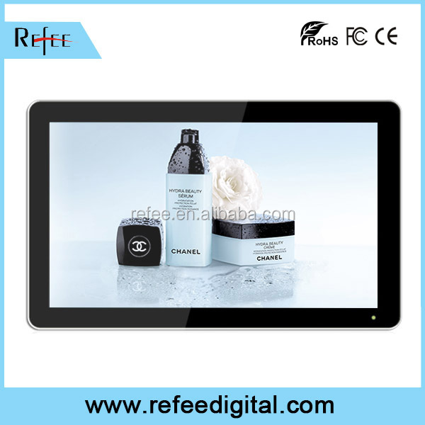Free online advertising, Android wifi digital signage, LCD touch screen, apple imitated ad player