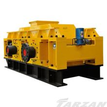 Durable double hydraulic toothed roller crusher