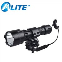 Universal Gun Mount High Power Lights Rechargeable LED Night Hunting Torch Light