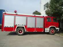 DFAC 4*2 fire truck, used fire truck, water tank fire fighting truck
