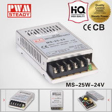 Hot sell MS-25 SMPS 25W 24v 1a AD/DC electronic led driver