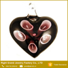Cheap Customized Murano Heart Shaped Glass Necklace Pendant