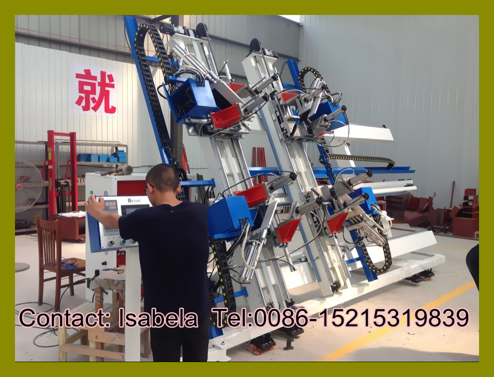 UPVC window welding machine machine for Plastic windows / PVC window welder machines