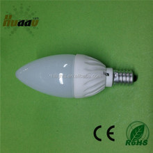 Hot sale 3W ceramic led candle light led candle lamp e14