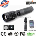 multifunction CREE XML-T6 1x18650 flashlight high power zoom focus lampe USB power bank HT-Y73