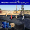 Double Component Flexible Waterproofing Flat Concrete Roof Using Liquid Rubber Coating