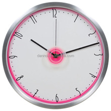 12 Inch Quartz Metal Wall Silent Seiko Quartz Clock