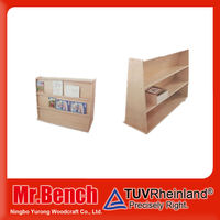 HIgh-quality Kindergarten school furniture cabinets,cheap book shelf for kids