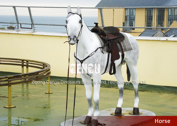 Amusement Park Rides Fiberglass horse for sale