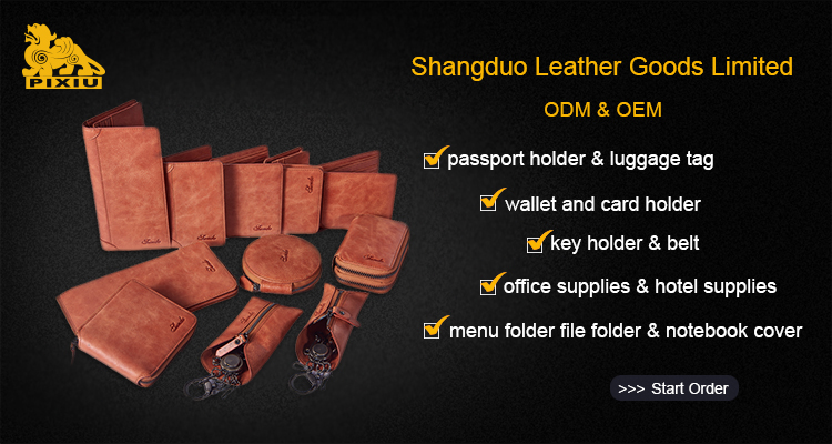 Top Performancing Supply Quality Best Brand Man Leather Wallet