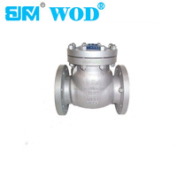 2-12 inch flanged non-return valve swing check valve 150LB