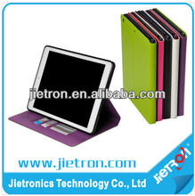Multi Color Leather Wallet Case For iPad Air(JT-2912024 )