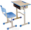 Fashion modern school desk and chair set