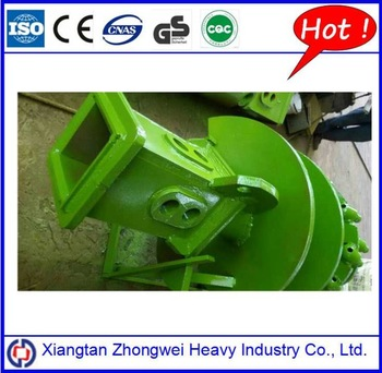 Best selling drilling bucket spare parts double start double flight drilling augers