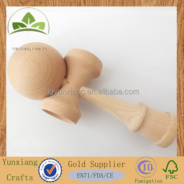 Supply natural beech wood kendama