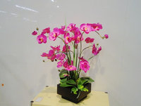 Decorative orchid flower ,artificial flower arrangements