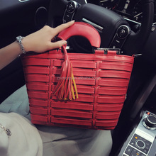 Z60854Y Fashion Styles Women Knitted Big Sizes Tote Casual Bags