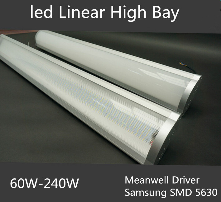 Industrial Led high bay light 60w 100w 150w 200w 240w high quality Meanwell driver with motion sensor function