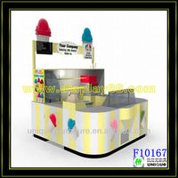 Ice Cream Kiosk/yogurt Display Cases/hot Sale Frozen Beverage Cart