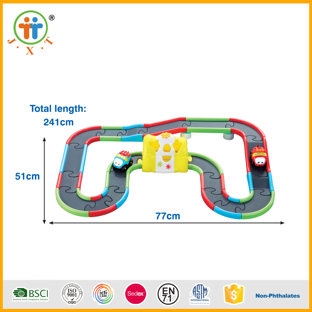 China wholesale interesting children plastic magic track toys car for sale