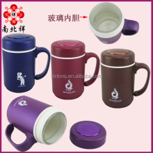 400ML Double Wall Tea Mug Glass healthful office mug