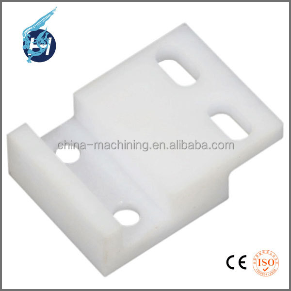 Dalian professional machinery supplier POM/PP/PE scooter 50cc shower door plastic parts manufacturer with the better cnc lathe