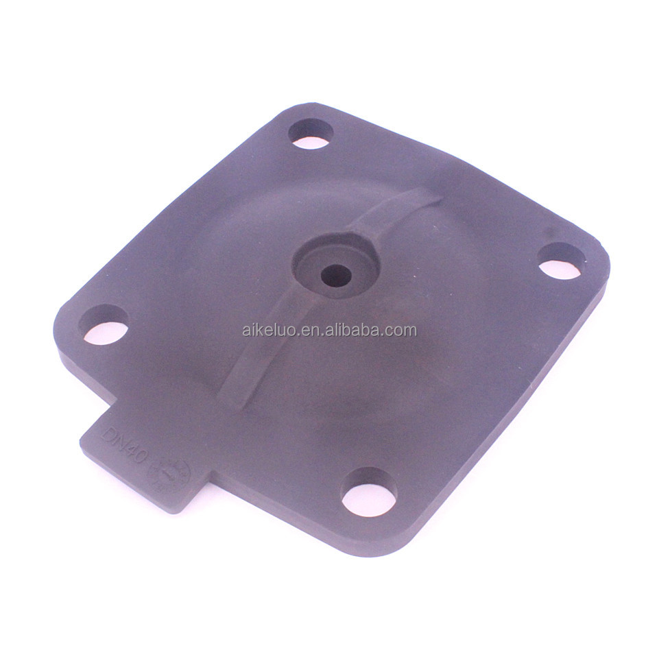 DN40 fabric reinforced EPDM rubber diaphragm plate for PTFE diaphragm valve