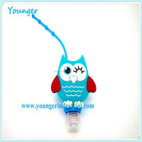 Younger Wholesale bbw pocketbac promotional item 15ml hand sanitizer case with keychain