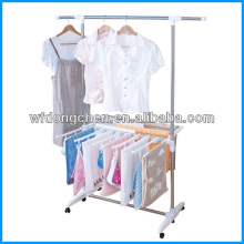 indoor garment clothes drying hanger rack DC-0303A