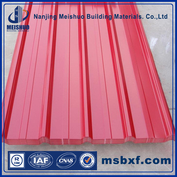 PPGL/PPGI/Pre-Painted Color Coated Corrugated Steel sheets for Roofing