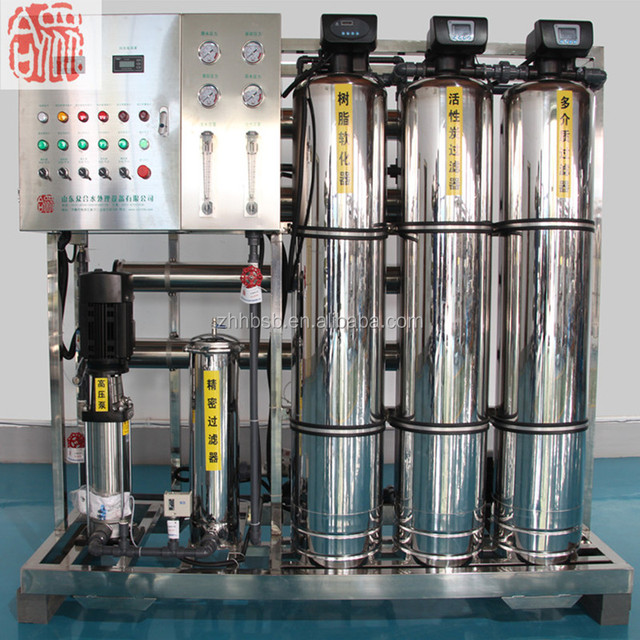 Cosmetic Pharmaceutical Chemical industries Food Drinking Water Reverse Osmosis RO Water Treatment Machine