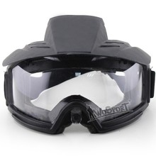 WoSporT Transformers Enhanced Goggles (Lens ) Outdoor Live CS PC Lens Anti-shock Goggles Tactical Protective Goggles