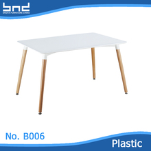 kitchen furniture plastic dining table for sale