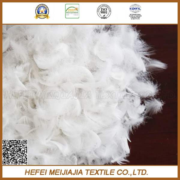 Buy 90% Washed white goose or duck down feather fill for coat