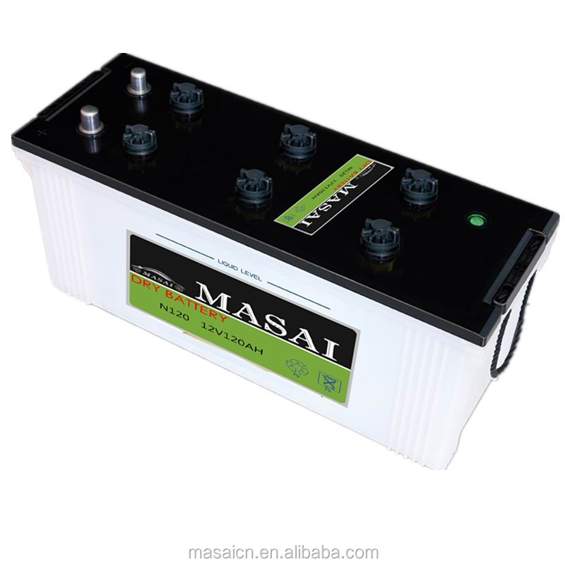 12v 150ah rc Dry Charged car Battery 200ah