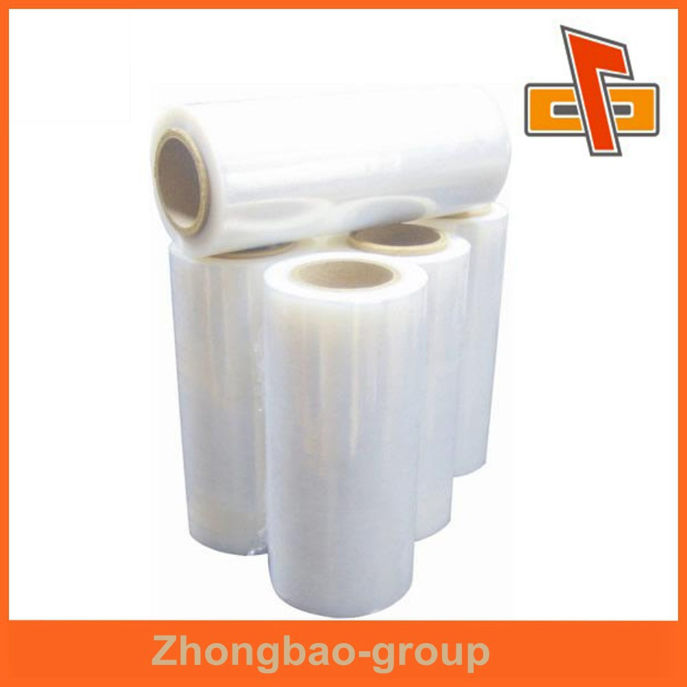 PVC material customized clear heat shrink plastic film for lamination use