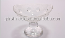 Factory outlet Clear glass for ice cream or drinks