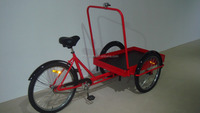 Three wheel cargo bike/cargo tricycle/reverse trike for sale UB9027PB
