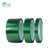 180 degrees light green PET industrial tape, High Temperature Resistant PET Insulation Masking Tape