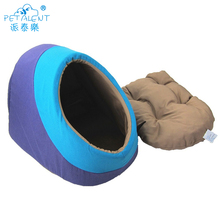 Factory wholesale eco-friendly canvas stuffed pet cat bed cushion luxury dog beds