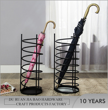 European antique decorative cheap indoor rain umbrella metal stands