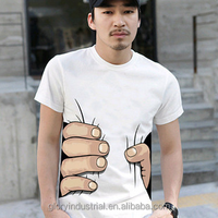 3d mens cotton print tshirt
