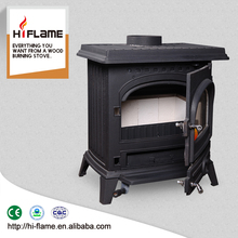 HF517UB Cast iron water jacket wood burning fireplace