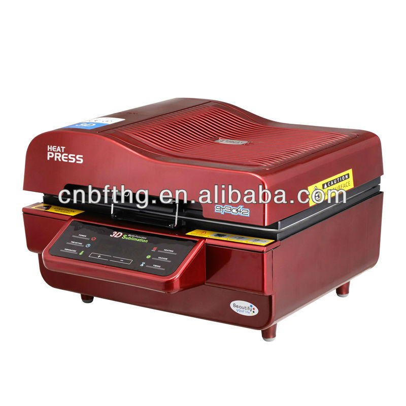 2013 New product ! heat press 3d sublimation vacuum machine with factory price