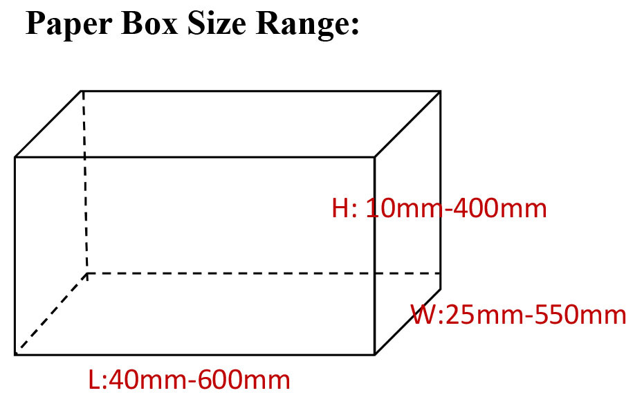 two pieces square black mini cardboard box