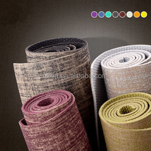 "Natural Jute/Eco PVC Premium Yoga Mat 24"" x 72"" Perfect for Exercise, Fitness, Yoga & Pilates"