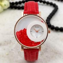Fancy Women Quartz Quicksand Diamond Fashion Vogue Ladies Watch