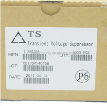 Transient Voltage Suppressors 1.5KE30A TVS diode 1N6282A