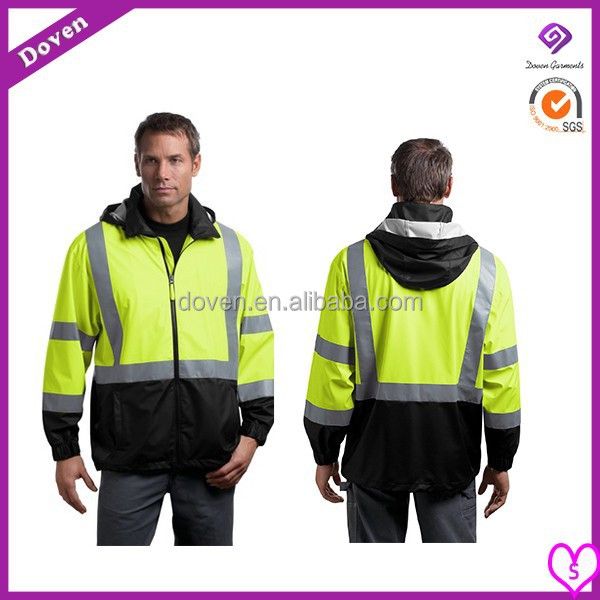 security guard uniforms hi vis safety 4 in 1 jacket security jacket